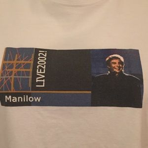 Tops - Barry Manilow Live 2002! | Concert Tee | Large